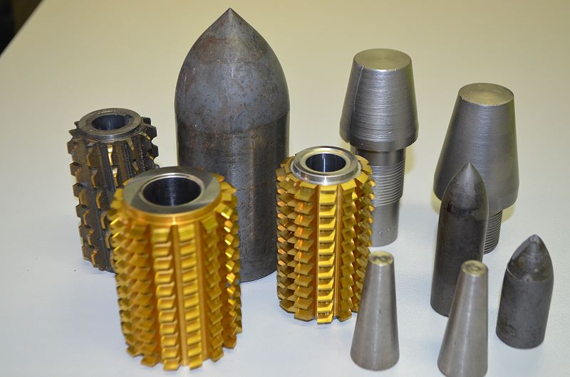 Tungsten carbide scrap | RS-Recycling - metals and alloys