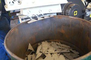 Aufbereitung: Metall zerkleinern